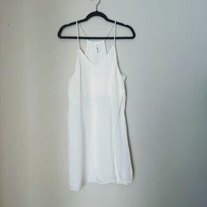 Women's Slip Dress Ivory Size M